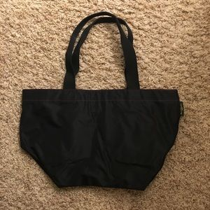 Herve Chapelier Bags - Black and magenta over-the-shoulder bag